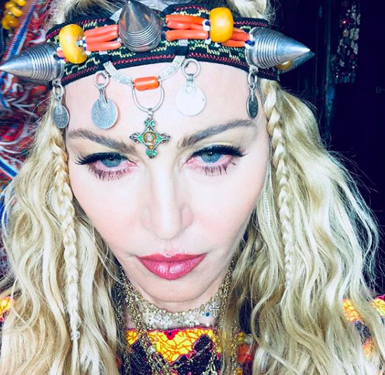 Photo : Instagram Madonnna