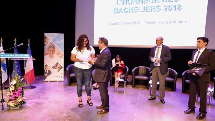 Didier Robert rencontre les bacheliers 2018