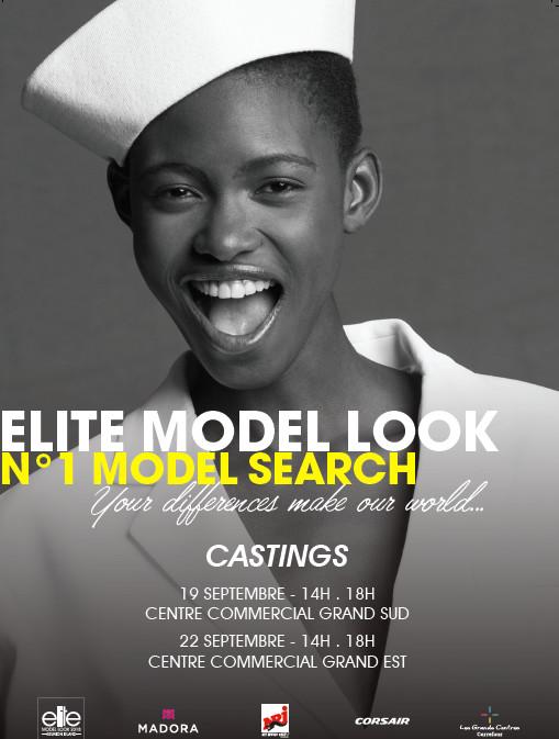 Les castings Elite Model Look arrivent