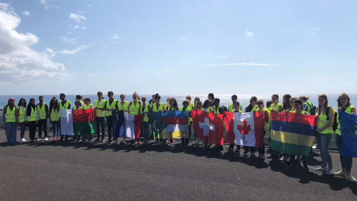 Chantier NRL: 120 étudiants étrangers à la découverte de l'innovation réunionnaise