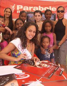 Miss Réunion avec les abonnés