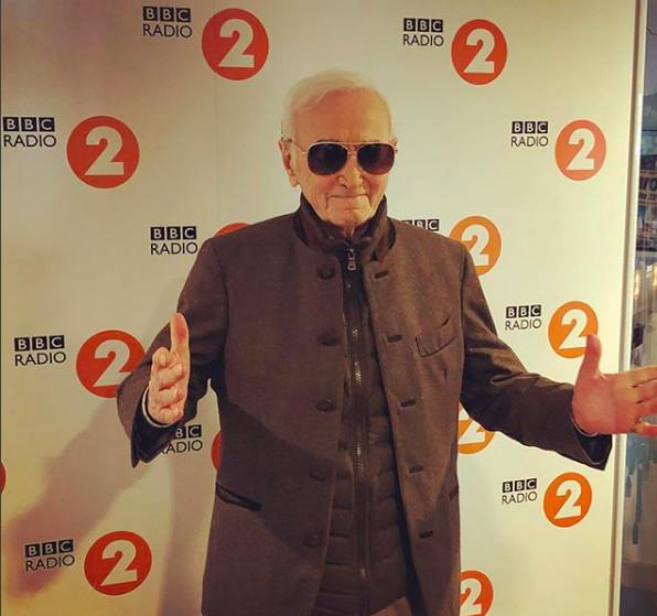 Charles Aznavour s'en est allé