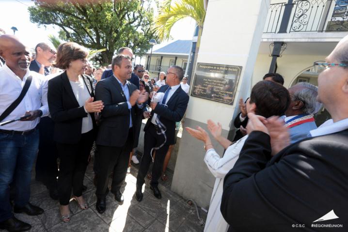 Annick Girardin, Ministre des Outre-Mer en visite à l'île de la Réunion