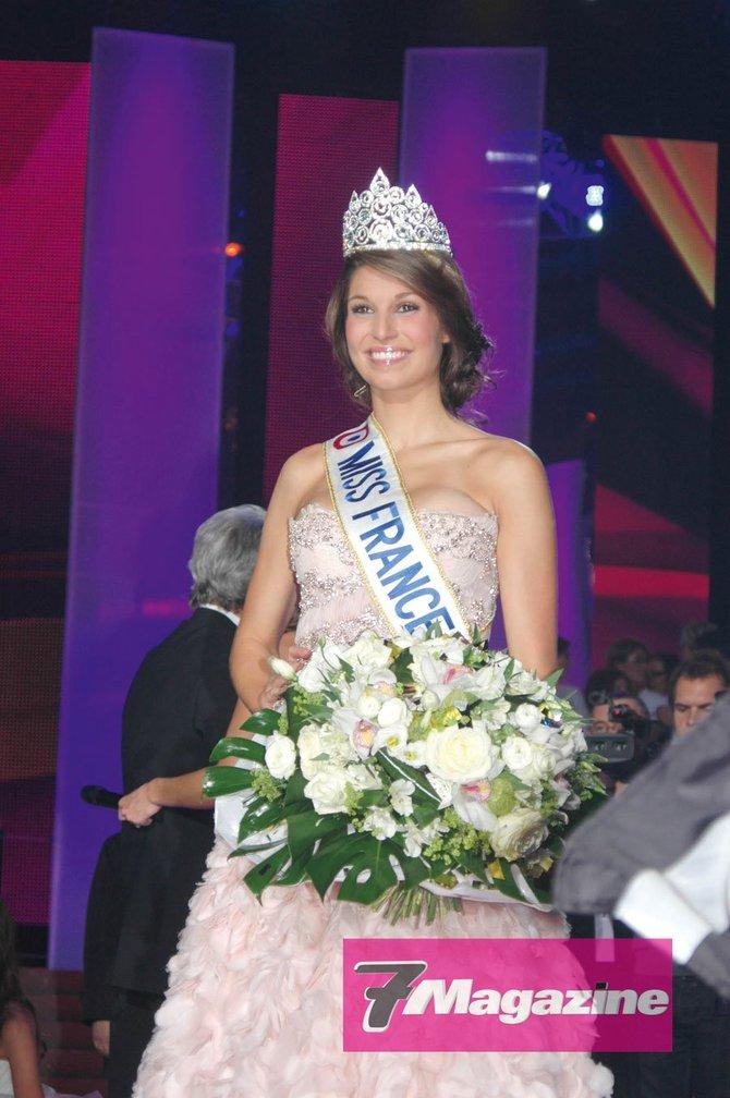 Miss France 2011 après le show…