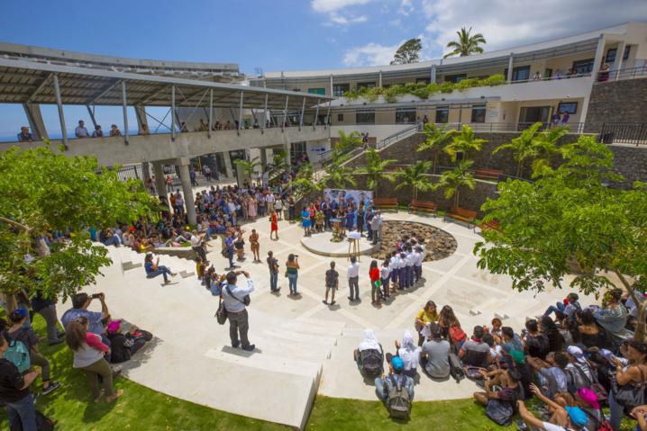 Inauguration du Lycée Nord de Bois de Nèfles