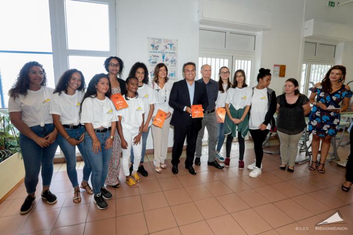 Visite du lycée des Avirons