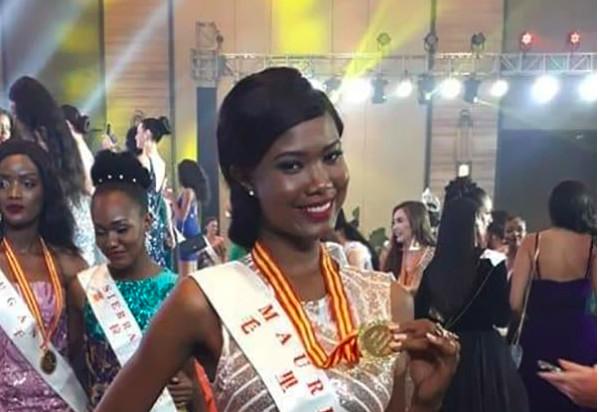 La Mauricienne Murielle Ravina se qualifie pour le deuxième round de Miss World 2018