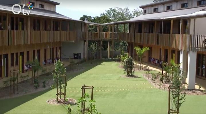 École Denise SALAI à Saint-Benoit - Plan régional d'aides aux communes