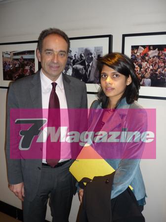 """Samia Badat, Secrétaire Nationale UMP  """"Donner une image positive de l'Islam en France"""""""