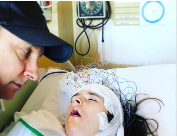 Jean-Marc Généreux aux côtés de sa fille lourdement handicapée