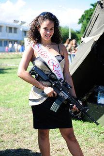 Miss Réunion au RPIMA