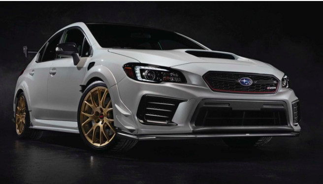 Subaru : le retour de l'Impreza WRX STi