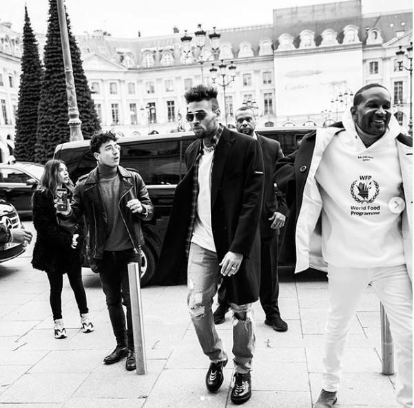 Photo: capture Instagram Chris Brown