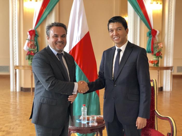 Coopération régionale : Entretien entre le Président de la Région Réunion et le nouveau Président de la République de Madagascar