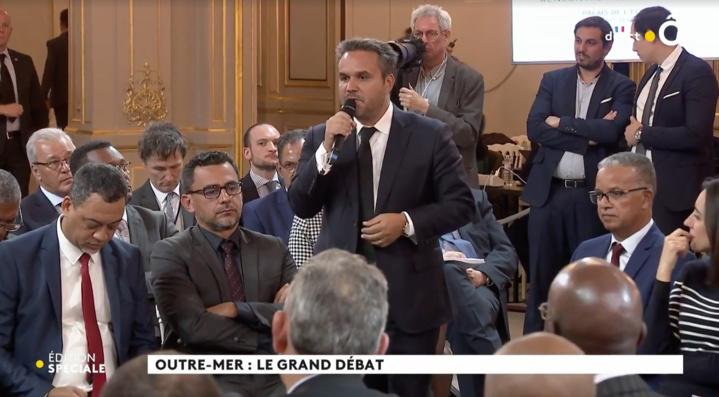 Le Grand débat - Outre-Mer : Discours de Didier ROBERT