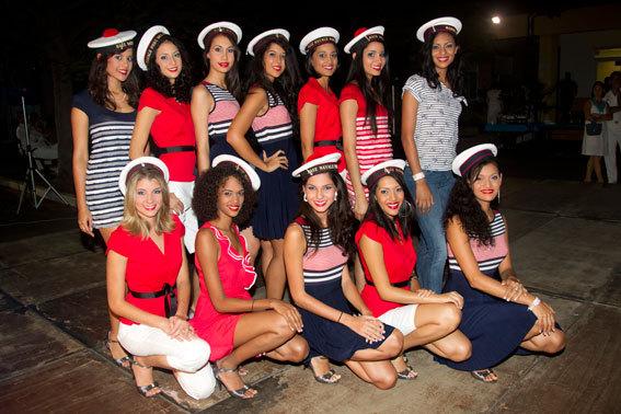 Les 12 candidates commencent la grande aventure de Miss Réunion 2011