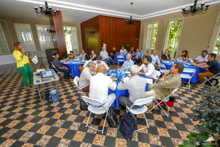 Workshop « Grow RUP » avec les acteurs de l'économie bleue
