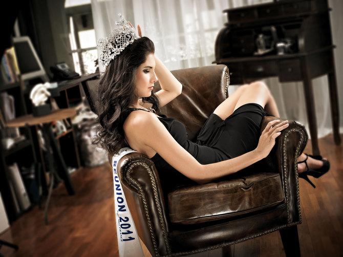 Miss Réunion 2011, Marie Payet, nouvelle Reine de La Réunion