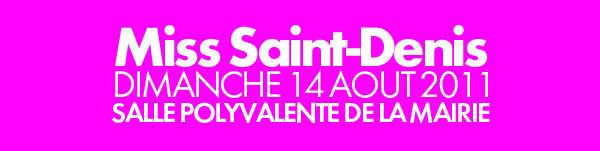 Miss Saint-Denis 2011