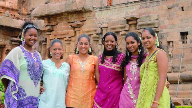 Danse: Stage en Inde