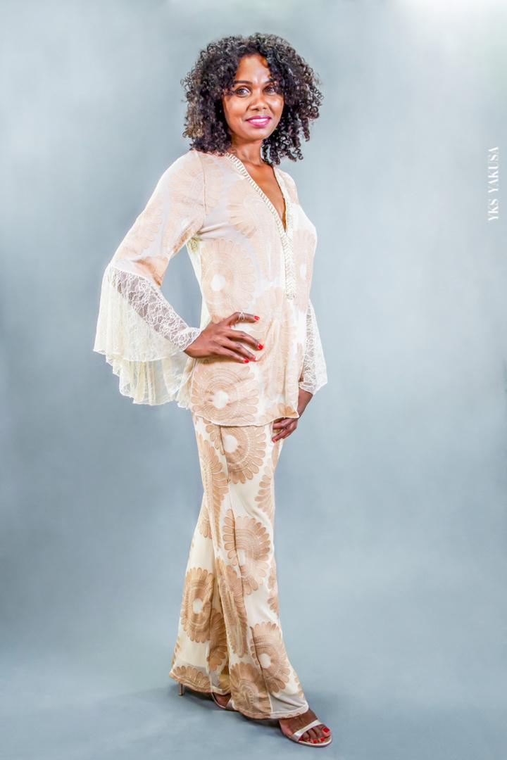 Sandrine, la trentenaire rayonnante