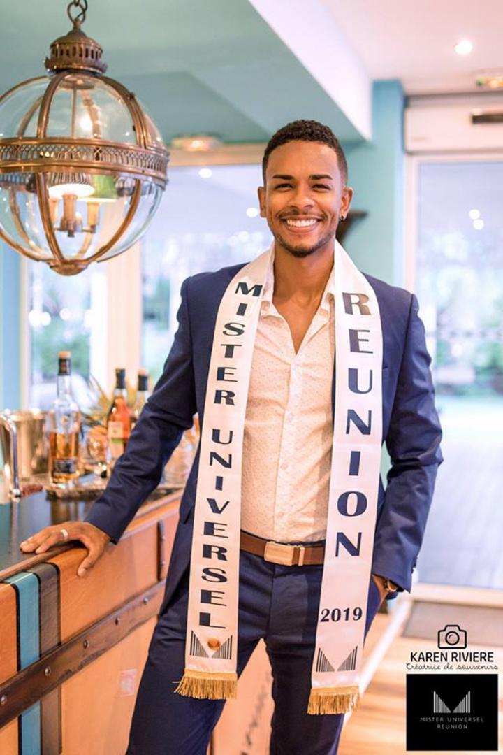 Fabien Mounoussamy, un Mister Universel Réunion homme du monde