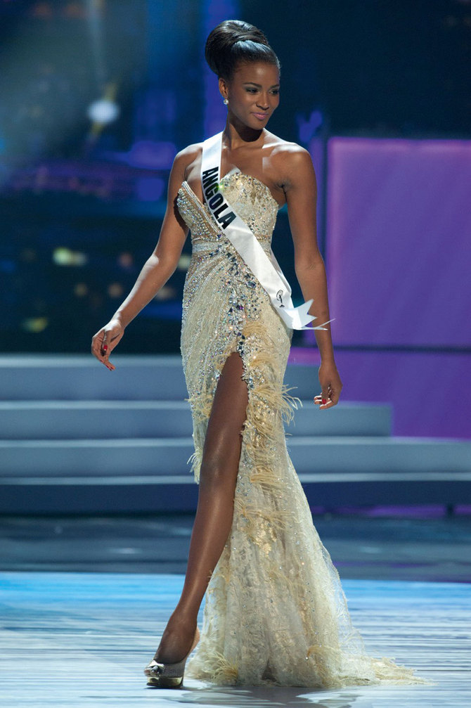Miss Univers 2011: L'angolaise Leila Lopes couronnée