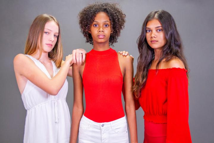 Maëlle, Camille et Swann finalistes du concours Elite Model Look Reunion Island 2018