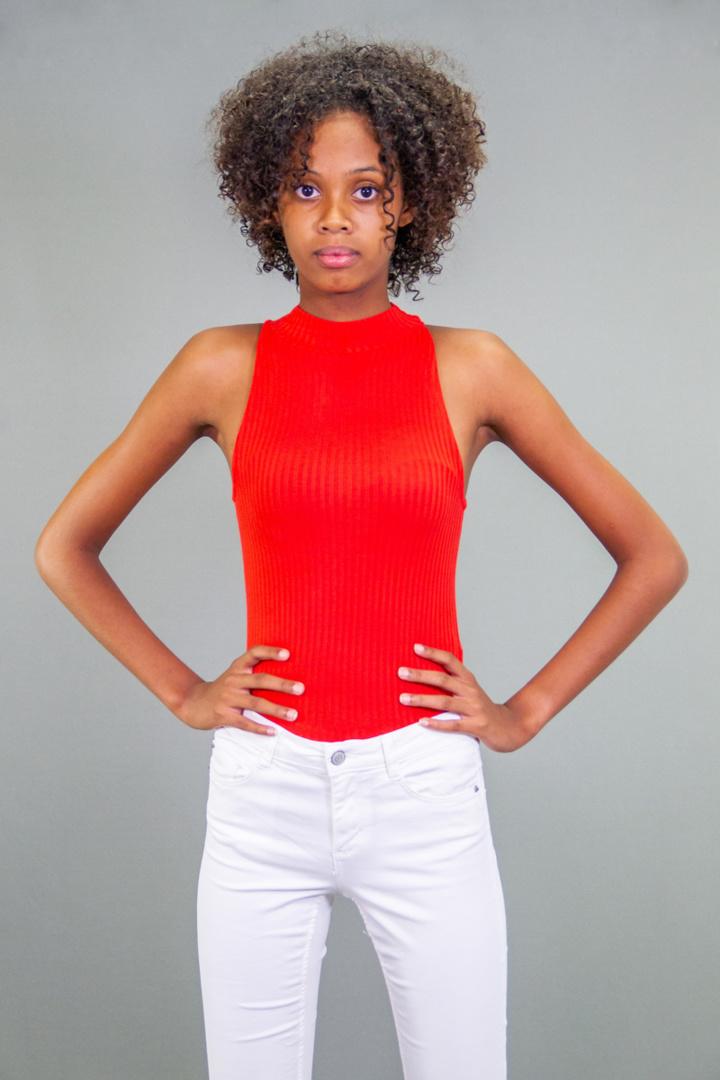 Camille, gagnante Elite Model Look Reunion Island 2018 et Top 10 du concours Elite Model Look à Teneriffe