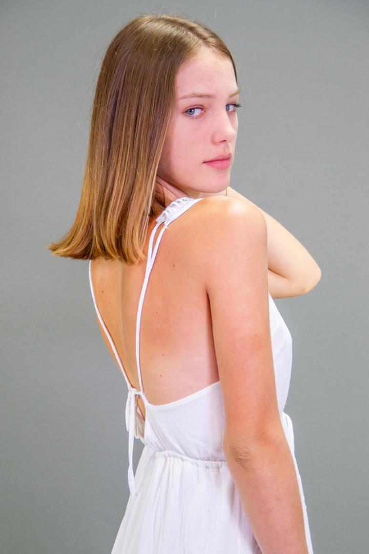 Maëlle, finaliste Elite Model Look Reunion Island 2018