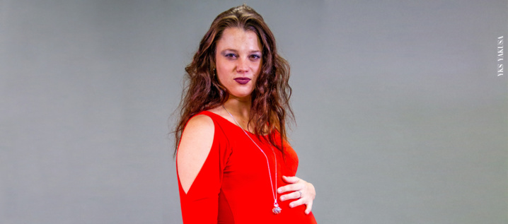Lea Luxembourger, future maman