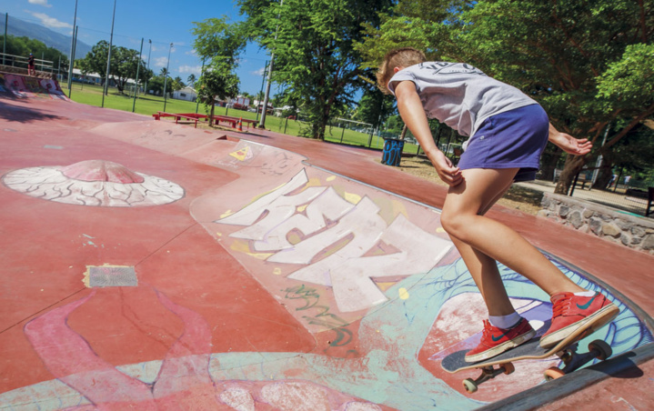 Skatepark spot de la Saline
