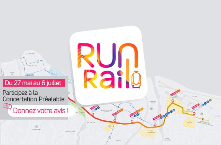 RunRail : L'Express Réunionnais, participez à la concertation préalable