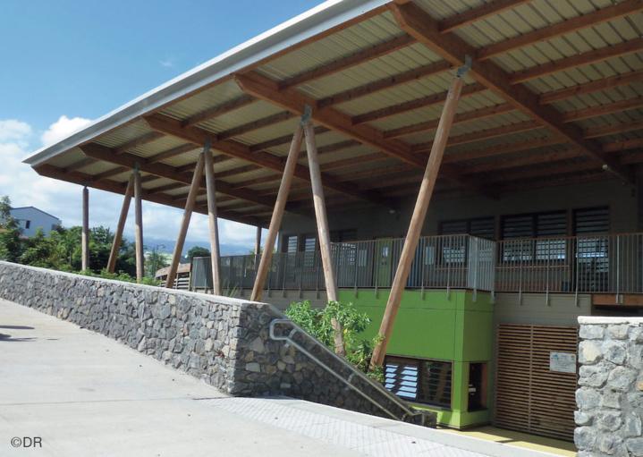 Une école 100% Bioclimatique