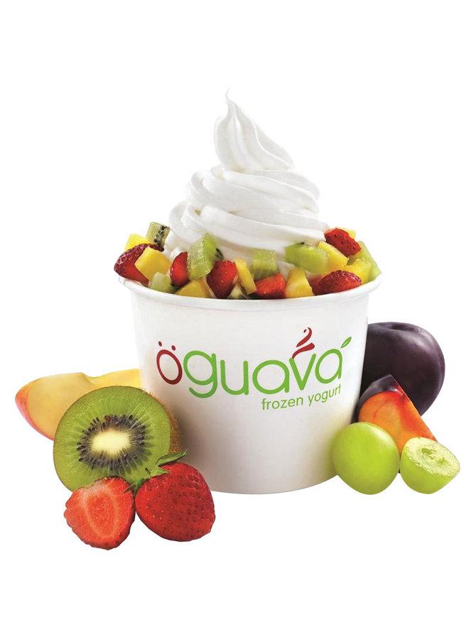 La vague du frozen yogurt déferle à La Réunion !  La Glace minceur plaisir...