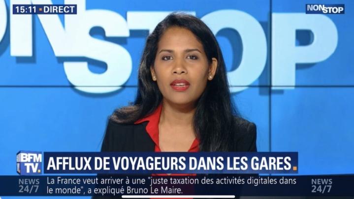 Laurence Françoise revient à l'antenne... sur BFM TV