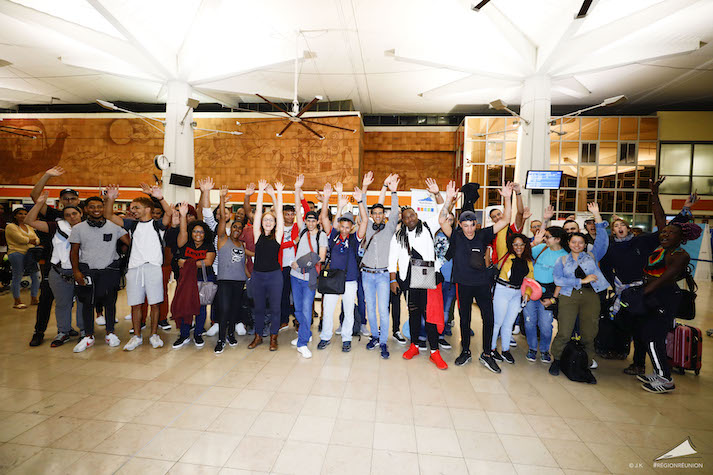 122 jeunes Réunionnais s'envolent pour le Québec