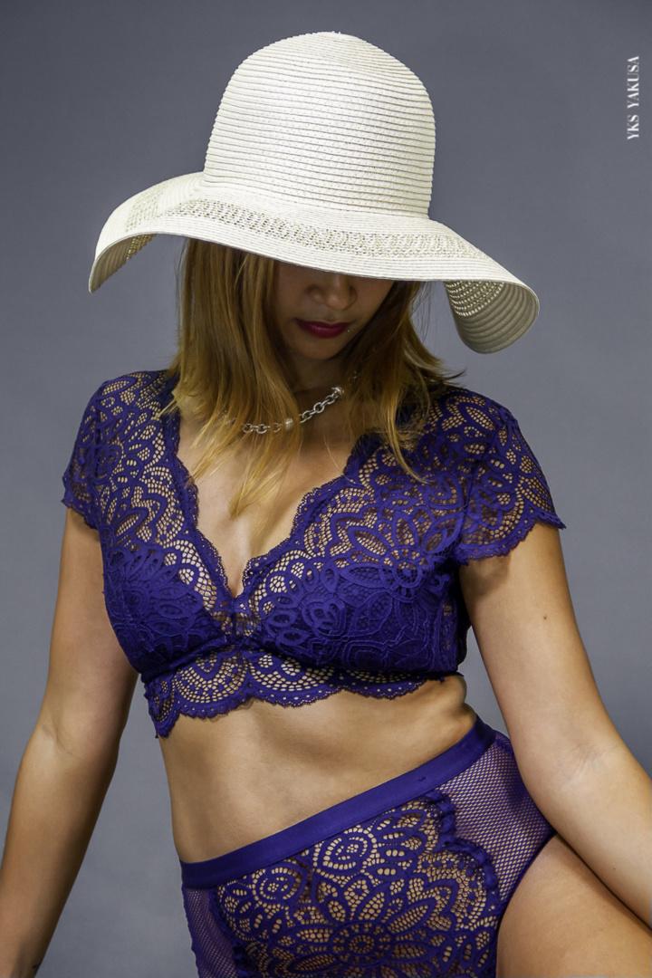 Fabienne Chapelain, la métisse fan de mode