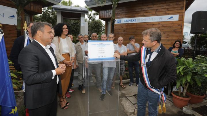 Inauguration de l'annexe de proximité de la Région Réunion à Saint-Philippe