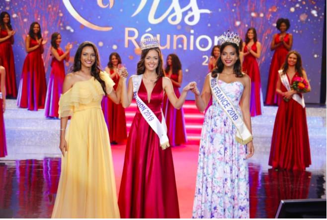 📷 Morgane Lebon est élue Miss Réunion 2019