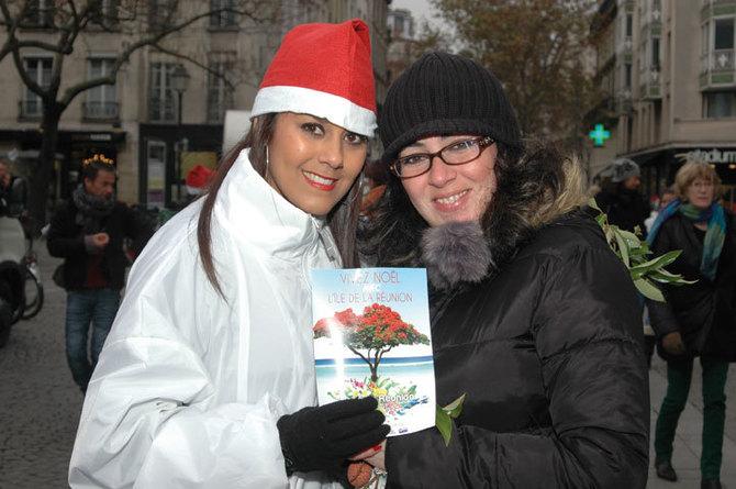 Ile de la Réunion Tourisme, Des letchis distribués à Paris!