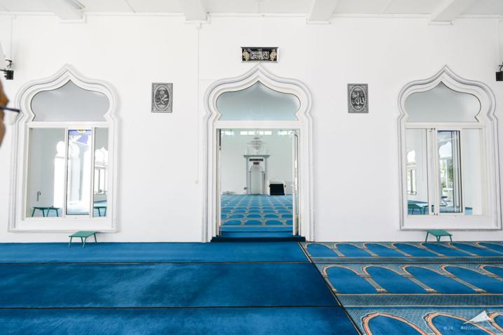 Visite de chantier de la Grande Mosquée de Saint Denis