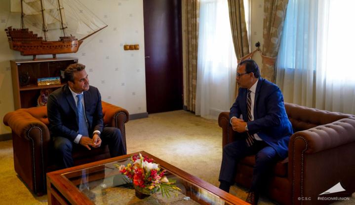 Réunion-Madagascar Didier Robert défend l'idée d'une stratégie commune