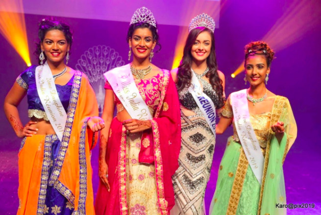 📷 Valérie Soupaya-Valliama couronnée Miss India Réunion 2019