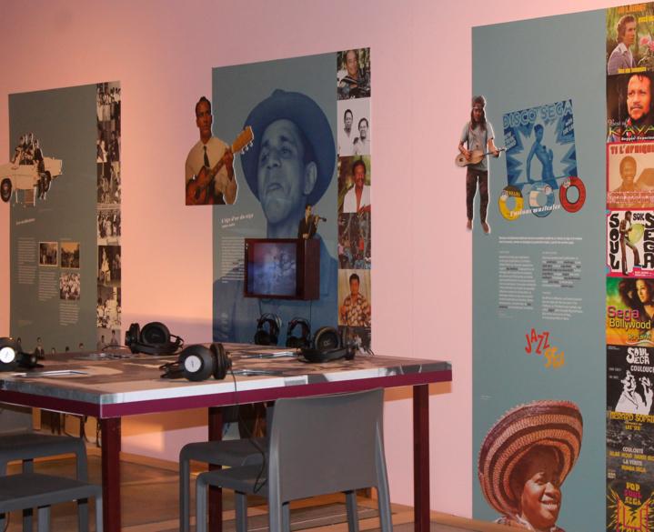 Exposition Tschiéga Ségas, musiques de l'océan Indien