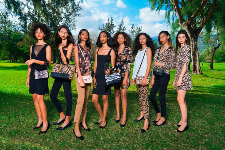 Odile, Gwenaëlle, Saadjidad, Camille, Sandjana, Luane, Gwenaëlle et Lola