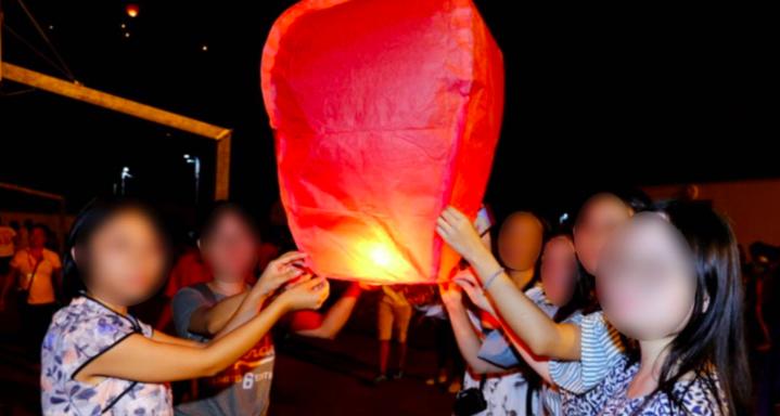 Interdiction des lâchers de lanterne volante : le Préfet s'interroge
