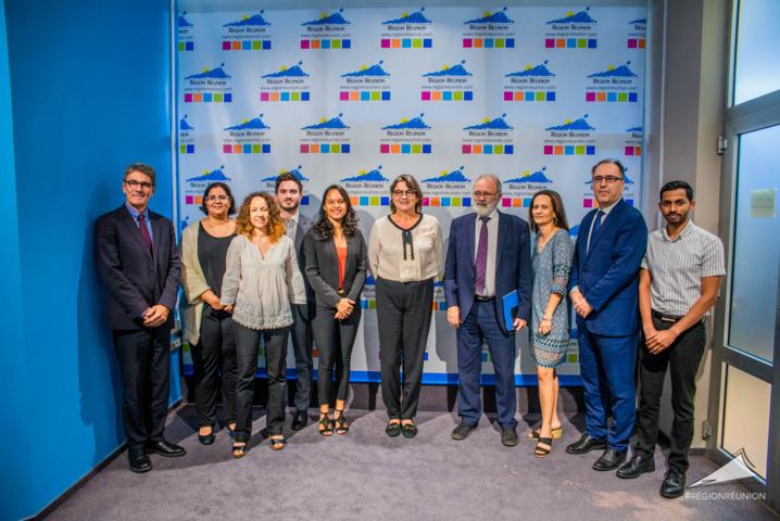 Partenariat 2019-2021 entre l'Association France Volontaires et la Région Réunion