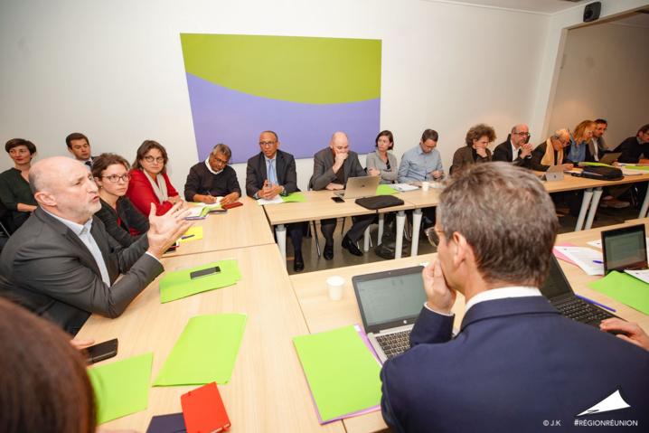 Réunion préparatoire inter-région française pour le réexamen des Fonds Europeens