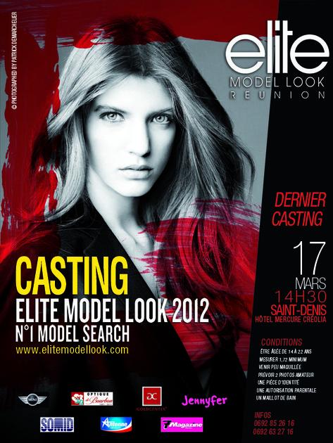 Ultime casting Elite Model Look Réunion